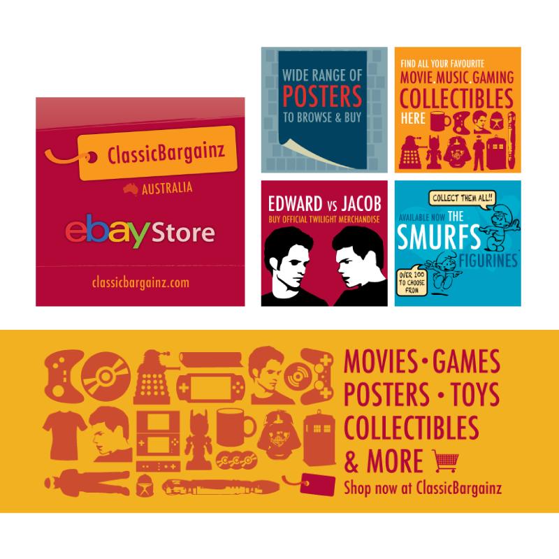 Classic Bargains Web Graphics