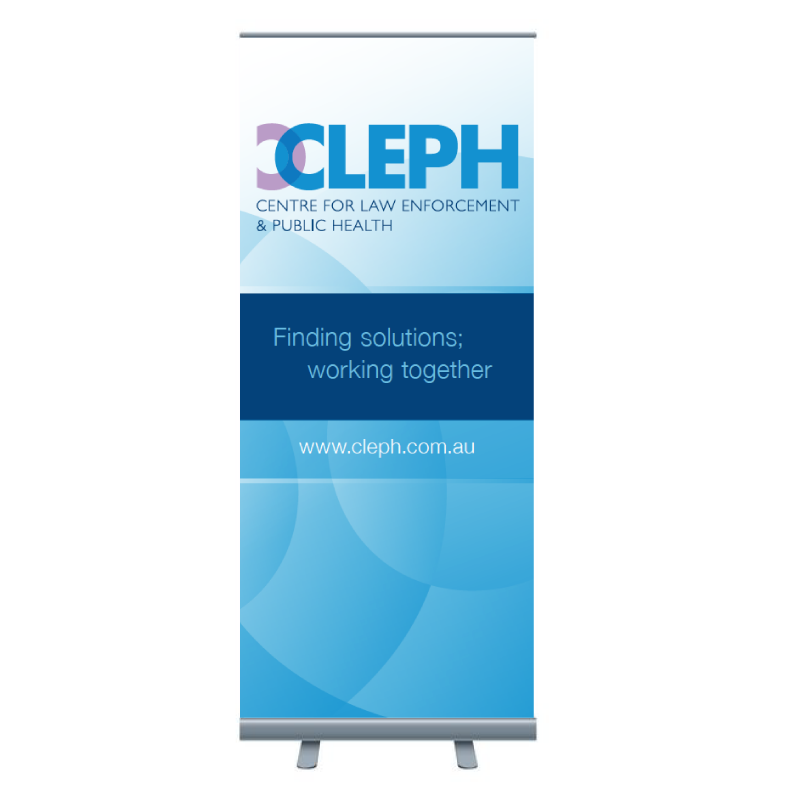 CLEPH Pull-up Banner