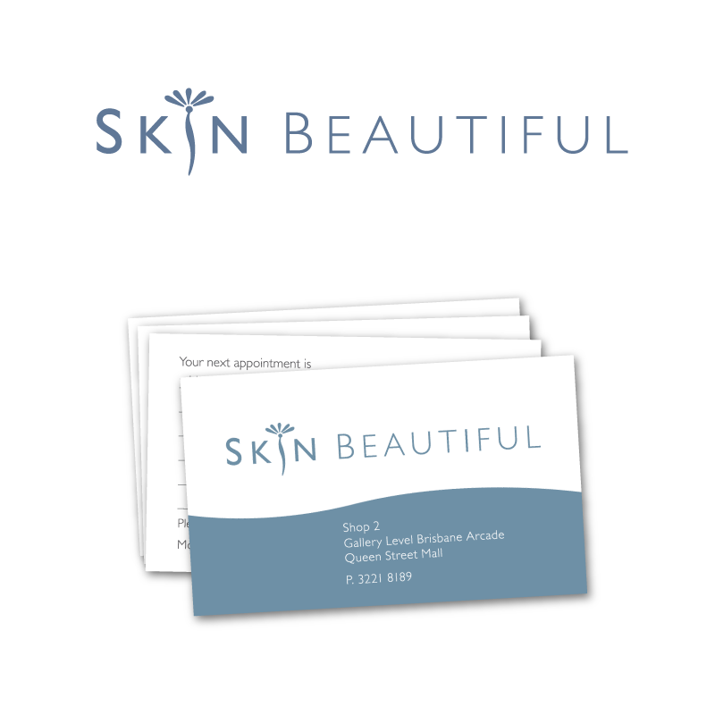 Skin Beautiful Business Cards