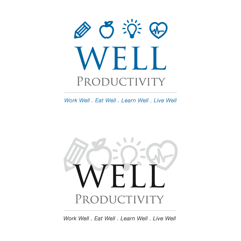 WELL Productivity Logos